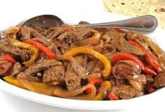 Skinny Steak Fajitas.       WW (old points) 4 WW POINTS + 5  SKINNY FACTS: for ½ cup fajita and 1 corn tortilla (not including toppings)  200 calories, 7g fat, 16g protein, 20g carbs, 3g fiber, 473mg sodium, 5g sugar