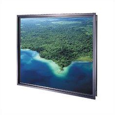 Da-Lite Da-Plex Rigid Rear Black Fixed Frame Projection Screen Viewing Area: