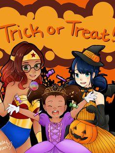 """Miraculous Ladybug & Chat Noir """"Happy Halloween"""""""