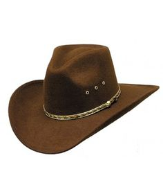 Teen Adult Size Beige Ropes Western Cowboy Hat Cattleman Unisex Costume 4 Party