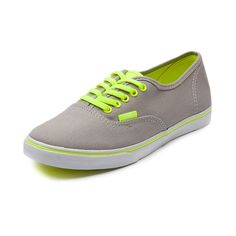 Shop for Vans Authentic Lo Pro Skate Shoe in Neon Gray at Journeys Shoes. Available for shipment in June; pre-order yours today!