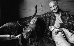 Balthus et son chat.