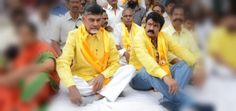 Balayya only second fiddle to Chandrababu? http://goo.gl/LuXjtC   Natasimha Balakrishna after entertaining movie lovers with his powerful dialogues on the silver screen has entered politics to continue the legacy of his late father Nata Sarva Bhowma NTR.