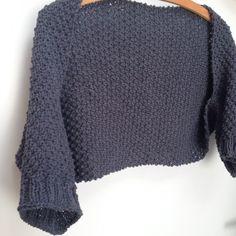 Free knitting pattern shrug