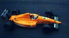 #33 Oscar Larrauri (Arg) - EuroBrun ER189 (Judd V8) non pre-qualified Eurobrun Racing