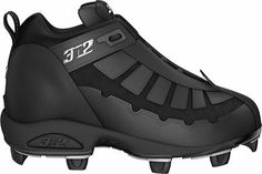 3N2 Prospect Mid Interchangeable Baseball Cleat Mens 3N2. $38.95 Baseball Cleats, Shoes Online, Cool Things To Buy, Black Leather, Athletic, Sneakers, Men, Sports, Paradise