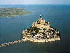 Another view of the magical Abbey of Mont-St-Michel, France.  I really, really, really want to go there sometime.