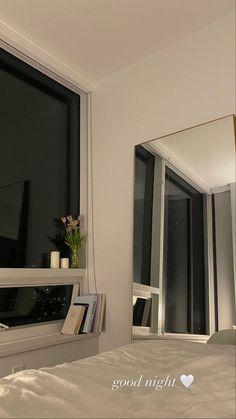 @emmaleger Room Ideas Bedroom, Bedroom Decor, Night Bedroom, Dream Apartment, London Apartment, Aesthetic Room Decor, Dream Rooms, My New Room, House Rooms