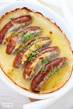 Polish Recipes, Polish Food, Kielbasa, Hot Dogs, Teak, Sausage, Ethnic Recipes, Polish Food Recipes, Sausages