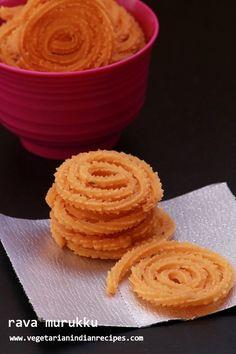 how to make rava murukku