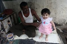 the cobbler and barefeet blogger of bandra - nerjis asif shakir 1 year old