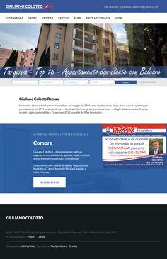 www.GiulianoColotto.it Consulente Immobiliare ReMax per Tarquinia e Montalto di Castro