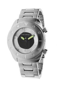 Android Men's AD555BK Ninja 45 Stainless Steel Watch Android. $100.98. Open and close shutter design. 316l stainless steel case. Super-luminova hands. Quartz movement. Bracelet watch. Save 50% Off!