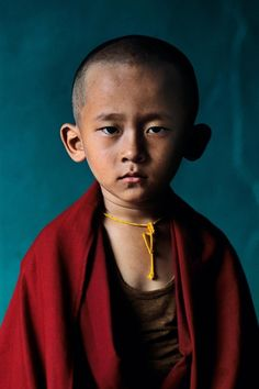 Novice Monk by Steve McCurry