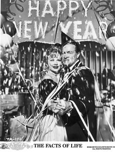 Still of Lucille Ball and Bob Hope in The Facts of Life