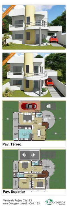 Cabin House Plans, Dream House Plans, Modern House Plans, House Floor Plans, My Dream Home, Layouts Casa, House Layouts, House Roof, My House