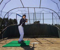 Artificial Turf Batter's Stance Mats for Baseball & Softball