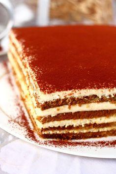 Sweet Cakes, Espresso, Baking, Ethnic Recipes, Food, Mascarpone, Espresso Coffee, Bakken, Essen