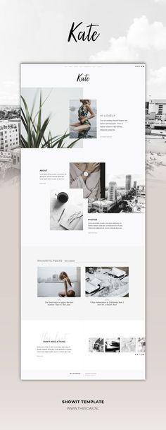 - - One-of-a-kind Showit Website Template. Restyle the… – -One-of-a-kind Showit Website Template. - - One-of-a-kind Showit Website Template. Coperate Design, Layout Design, Theme Design, Web Design Tips, Logo Design, Web Design Company, Web Layout, Flat Design, Design Model
