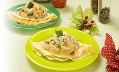 Receta de Crepes de camarón a la crema y ajo - PRONACA