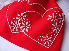 big B: Be Mine Valentine embroidery pattern packet