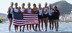 DominEIGHT: U.S. Women's Eight Rows To Landmark Third Consecutive Olympic Gold Medal