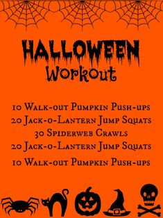 Burn off those #HalloweenCandy calories with this fun, spooky #workout. | Health.com