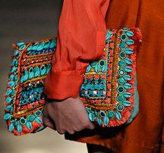 Matthew Williamson Spring 2012 (tibetan, tribal, turquoise & carmine)