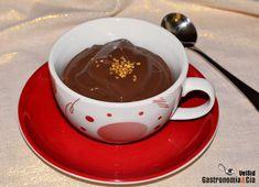 Chocolate a la taza casero, fácil y rápido