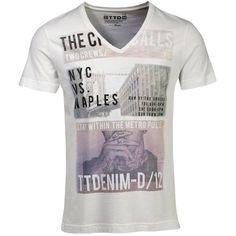 #T-Shirt mit stylischem #Print - ab 15,95 € Hier kaufen: http://stylefru.it/s494027 #style #men