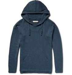 Outerknown - Atlantic Organic Cotton and Cashmere-Blend Hoodie|MR…