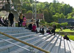 The London & Amsterdam Steps, Garsington Opera Pavilion, Wormsley Estate