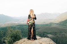 Black lace dress by The Jet Set Diaries