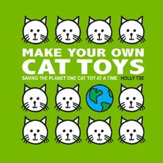 make your own cat toys book