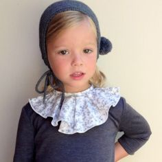 love this hat Katie! Young Girl Fashion, Toddler Fashion, Kids Fashion, Cute Kids, Cute Babies, Baby Kids, Cute Baby Girl Outfits, Kids Outfits, Fashionista Kids