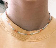 Beaded Chocker, Beaded Choker Necklace, Seed Bead Necklace, Seed Bead Jewelry, Bead Jewellery, Diy Necklace, Cute Jewelry, Beaded Jewelry, Jewelry Necklaces