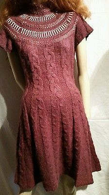 Free People Nordic Nights Sweater Dress- Size Medium - MSRP$168