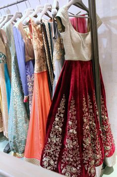 Ooh I love this first lehenga! Would love to wear something like this for my brothers wedding! - www.CrazyIndianWedding.com Aka Roli Gaur Vashisht www.facebook.com/RoliGaurVashisht