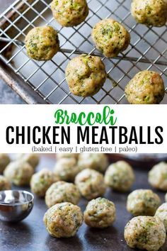 Easy Broccoli Chicken Meatballs gluten free Savory Lotus Easy Broccoli Chicken Meatballs gluten free Savory Lotus Gesundheit und Sch nheit vegetarische rezepte kinder Healthy nutritious and packed nbsp hellip chicken easy Baby Food Recipes, Paleo Recipes, Cooking Recipes, Chicken Recipes, Toddler Recipes, Paleo Meals, Snacks Recipes, Free Recipes, Clean Eating Snacks