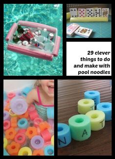 29 things to do with a pool noodle