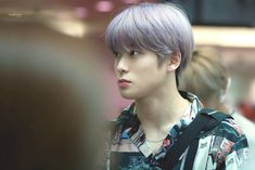Valentines For Boys, Jung Jaehyun, Winwin, Purple Hair, Fun To Be One, Taeyong, Nct 127, Rapper, Shit Happens