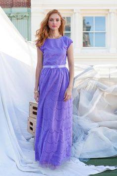 Alice Maxi Dress Purple