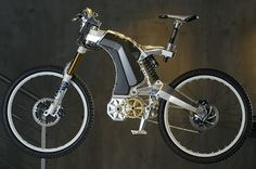 The steampunk electric bike of your dreams! Get your mustache wax and top hats ready!