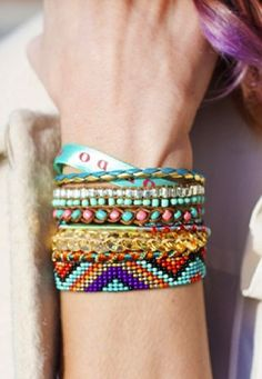 Brazilian braided bracelet