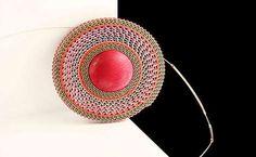 Sandra di Giacinto   corrugated paper jewelry