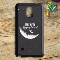 Peter Pan Take To Me Neverland Samsung Galaxy Note 5 Case | armeyla.com