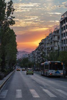 Evening light - Pedion Areos, Athens, Attica, Greece