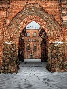 Cathedral ruins in Tartu, Estonia