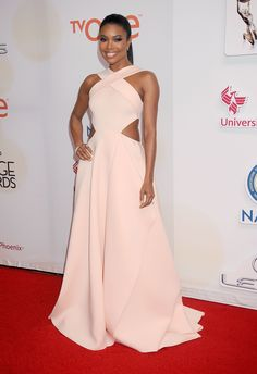 GABRIELLE UNION IN GAURI & NAINIKA Attending the 46th Annual NAACP Image Awards, February 6.