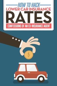 How to hack lower car insurance rates (confessions from an ex-insurance agent!) I know the ins and outs of car insurance. There are some tactics and s Low Car Insurance, Cheap Term Life Insurance, Life Insurance Premium, Insurance Quotes, Insurance Business, Homeowners Insurance Coverage, Assurance Auto, Money Saving Tips, Money Tips